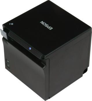 EPSON TM-m30II USB + Ethernet Thermodrucker mit Netzteil, schwarz (NEU)