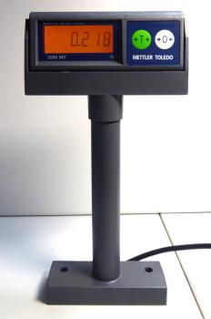Mettler Toledo Kundenanzeige Display für Waage DIVA und ARIVA neu mit Anschlusskabel 72191106