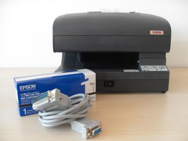 EPSON TM-J7500 Tintenstrahldrucker/ Apothekendrucker schwarz mit neuer Tintenpatrone C33S020407 - Gebrauchtgerät