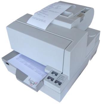 EPSON TM-H5000II, grau /gebraucht  - Hybriddrucker - Apothekendrucker - Rezeptdrucker USB oder RS232 oder LPT oder LAN